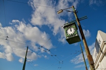 Bluesky Clock