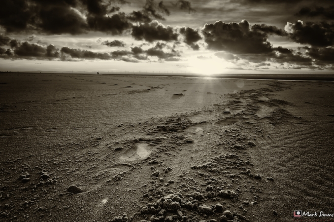 Sand In Sepia