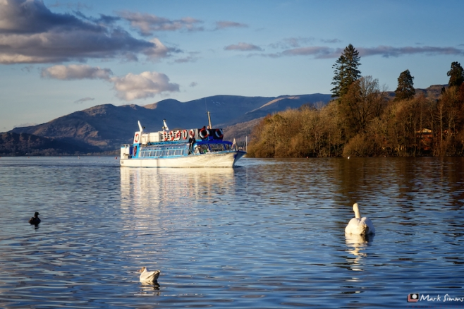 Cruising Lake Windermere