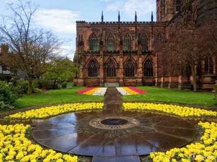 Chester Cathedral Exterior 1