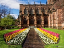 Chester Cathedral Exterior 3