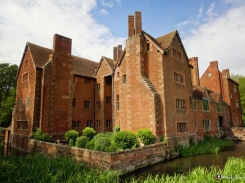 Harvington Hall, Kidderminster, Worcestershire, England