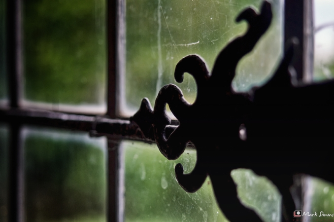 Hinge, Harvington Hall, Kidderminster, Worcestershire, England