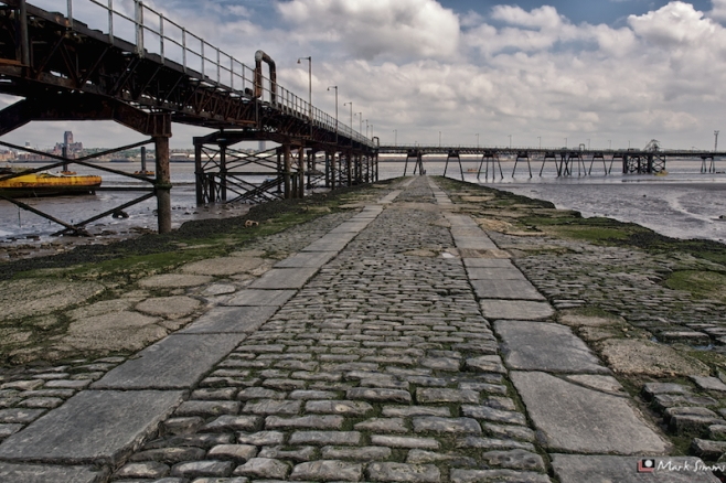 Jetty, Rock Ferry, Wirral, England