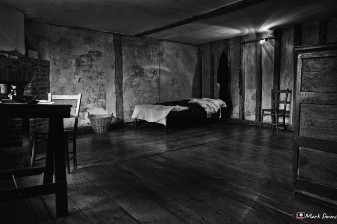 Room, Harvington Hall, Kidderminster, Worcestershire, England