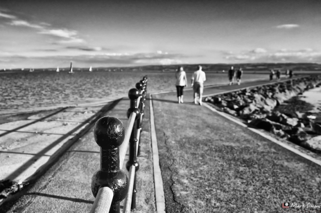 Walk, Railing, West Kirby, Wirral, England
