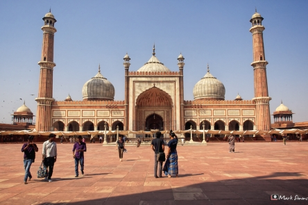 Jama Masjid, Friday Mosque, Old Delhi, India
