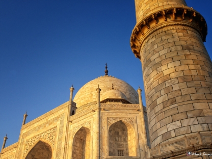 Golden Taj Mahal, Agra, Uttar Pradesh, India