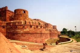 Red Fort, Agra, Uttar Pradesh, India