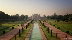 Taj Mahal: Charbagh & Great Gate, Agra, Uttar Pradesh, India
