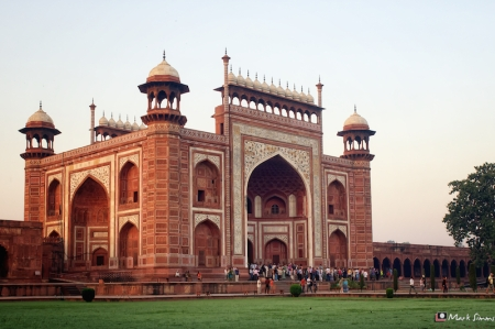 Taj Mahal: The Great Gate, Agra, Uttar Pradesh, India