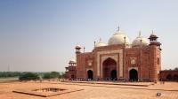 Taj Mahal: The Jawab, Agra, Uttar Pradesh, India