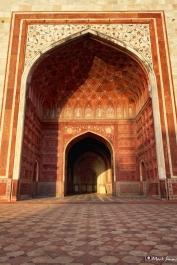 Taj Mahal: The Mosque, Agra, Uttar Pradesh, India