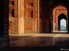 Taj Mahal: The Mosque, Agra, Uttar Pradesh, India