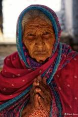 Portrait, Namaste, Ramathra, Rajasthan, India