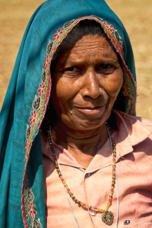 Portrait, Ramathra, Rajasthan, India
