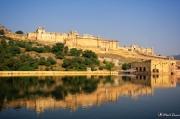 Amber Fort Reflected, Jaipur, Rajasthan, India