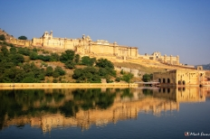 Amber Fort Reflected, Jaipur, Rajasthan, India