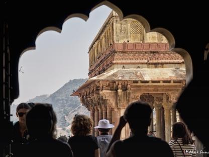 Inside Amber Fort, Jaipur, Rajasthan, India