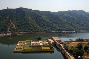 Views from Amber Fort, Jaipur, Rajasthan, India