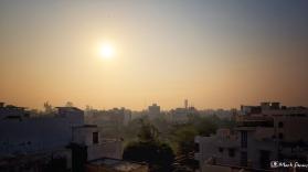 Sunrise, New Delhi, India