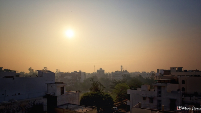 Sunrise, New Delhi, India