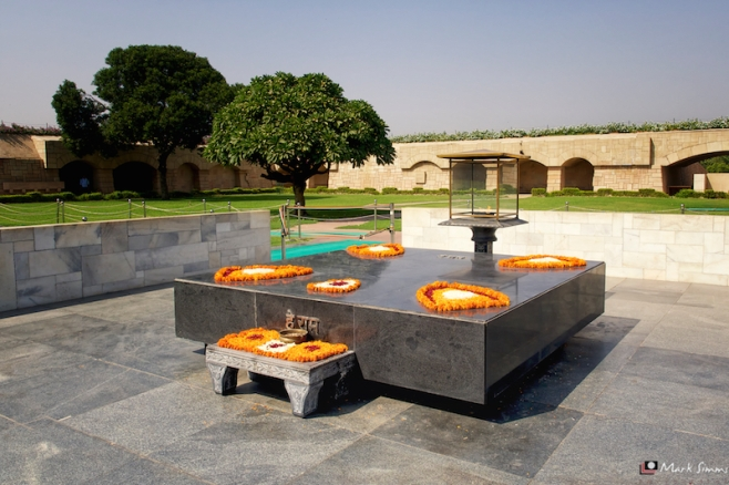 Raj Ghat, Old Delhi, India