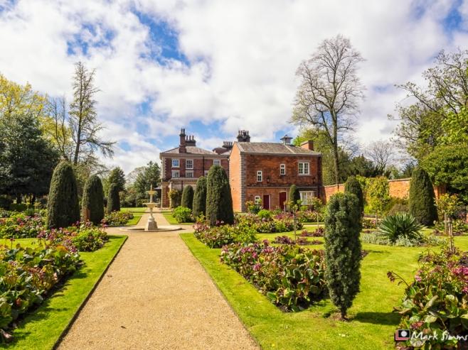 Castle Park, Frodsham, Cheshire, England