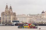 Three Queens, River Mersey, Liverpool, England