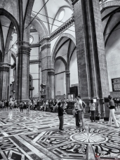 Inside the Duomo, Florence, Tuscany, Italy