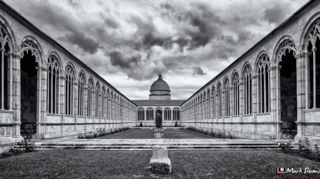 The Camposanto, Piazza dei Miracoli, Pisa, Tuscany, Italy