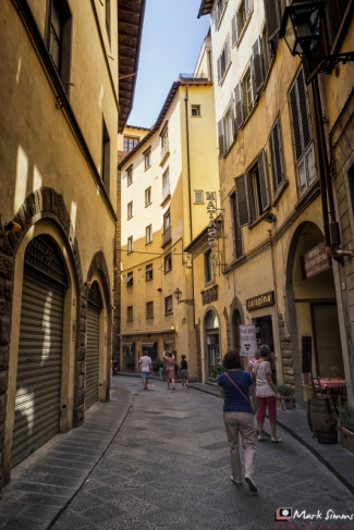 Streets of Florence, Tuscany, Italy