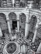 Baptistry Interior, Piazza dei Miracoli, Pisa, Tuscany, Italy