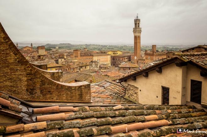 Rooftops, Siena, Tuscany, Italy