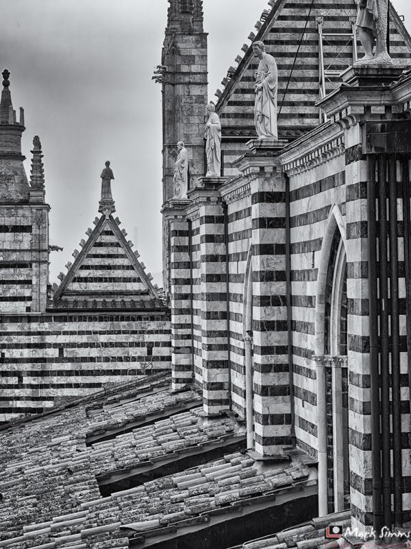 Cathedral Exterior, Siena, Tuscany, Italy
