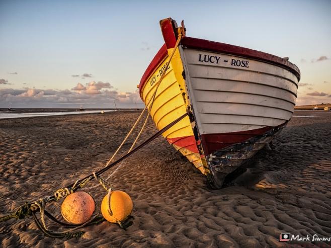 Boat, Meols, Wirral, Merseyside, England