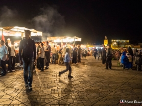 Jammaa El Fna, Marrakech, Morocco, North Africa