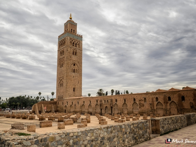 Koutoubia Mosque, Marrakech, Morocco, North Africa