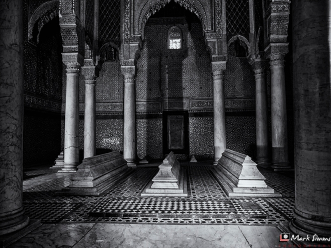 Saadian Tombs, Marrakech, Morocco, North Africa