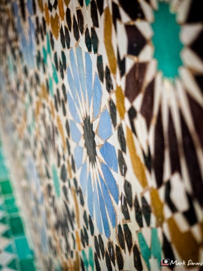 Saadian Tombs, Marrakech, Morocco, North Africa