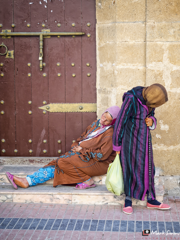 Streets of Essaouira, Morocco, North Africa