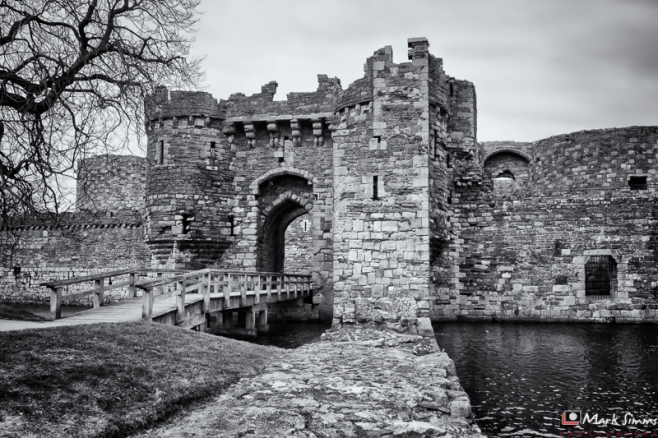 Beaumaris Castle, Anglesey, Wales, UK