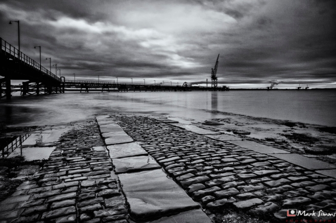 Rock Ferry, Dark Industry, Wirral, Merseyside, England