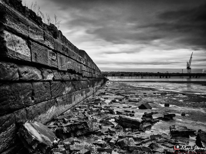 Dark Industry, Rock Ferry, Wirral, Merseyside, England