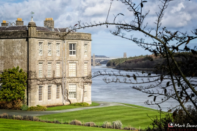 Plas Newydd, Anglesey, Wales, UK
