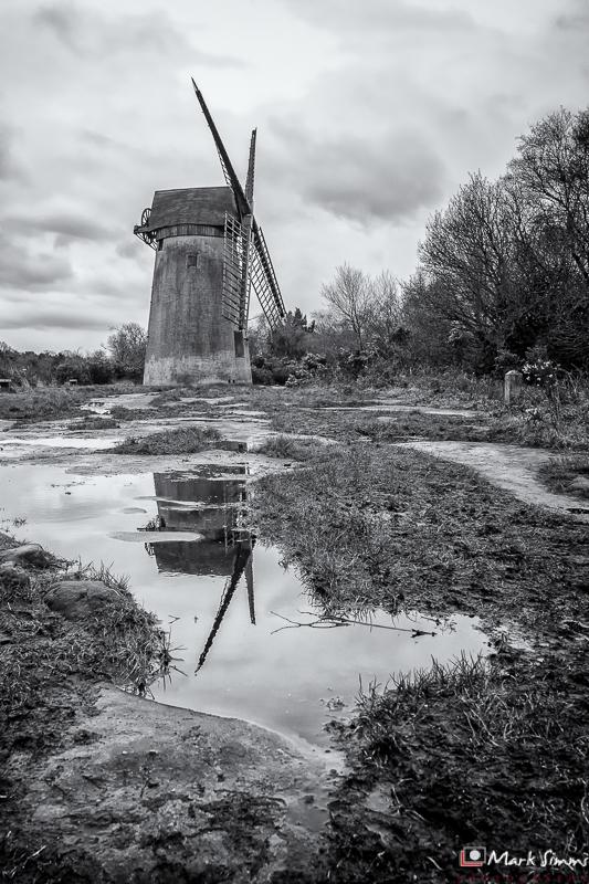 Windmill, Bidston Hill, Wirral, England