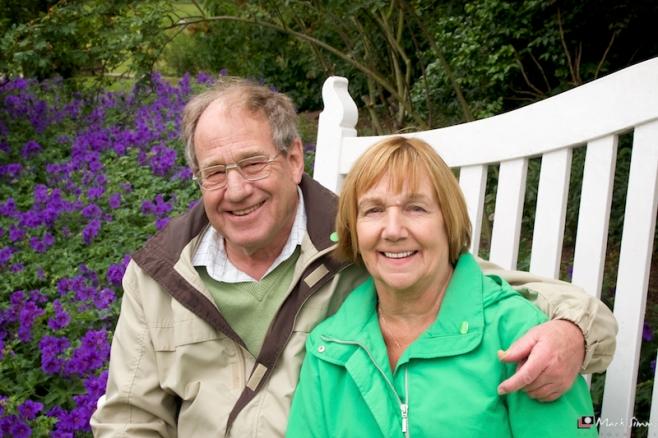 Mum & Dad, Shugborough Hall, Staffordshire, England