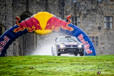 Wales Rally GB 2015, Chirk Castle, North Wales, UK
