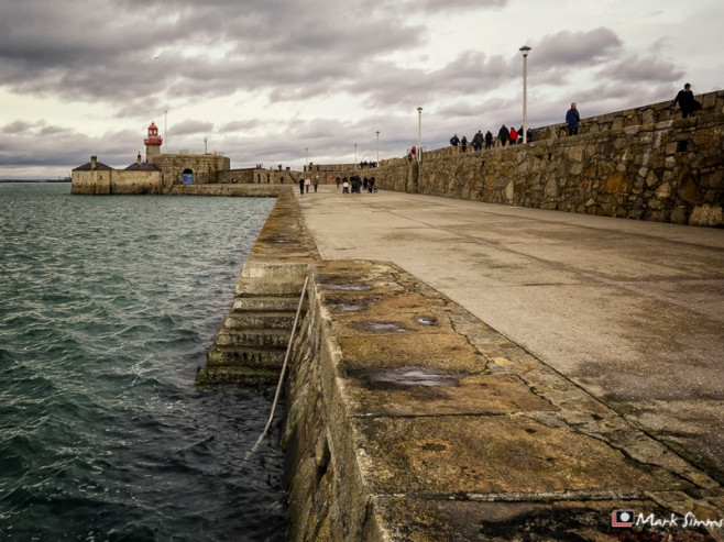 Dun Laoghaire Harbour, Dublin, Republic of Ireland