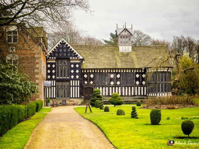 Front View, Rufford Old Hall, Ormskirk, Lancashire, England